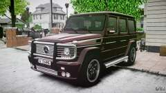 Mercedes Benz G55 AMG Final para GTA 4