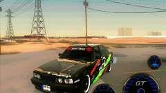 BMW E34 V8 - Darius Balys para GTA San Andreas