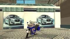 Motocicleta de la policía rusa para GTA San Andreas