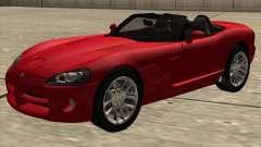 Dodge Viper SRT-10 Roadster para GTA San Andreas
