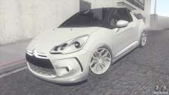 Citroen DS3 Convertible para GTA San Andreas