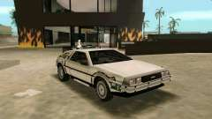BTTF DeLorean DMC 12 para GTA Vice City