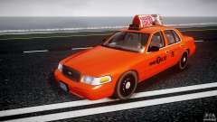 Ford Crown Victoria 2003 v.2 Taxi para GTA 4