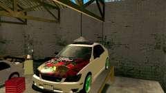 Toyota Height blanco para GTA San Andreas