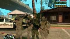 Piel Praice de COD 4 para GTA San Andreas