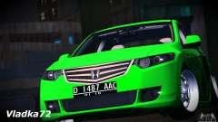 Honda Accord Angry Birds para GTA San Andreas