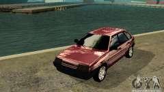 Vaz 2109 cromo para GTA San Andreas