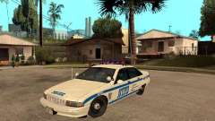 NYPD Chevrolet Caprice Marked Cruiser para GTA San Andreas