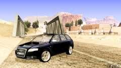Audi S4 Avant azul para GTA San Andreas