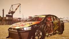 Mitsubishi Lancer Evo X Ryo King para GTA 4