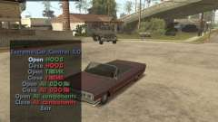 Extreme Car Mod (Single Player) para GTA San Andreas