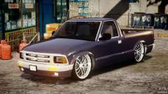 Chevrolet S10 1996 Draggin [Beta] para GTA 4