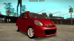 Nissan Micra 2011 para GTA San Andreas