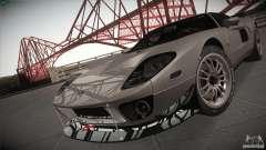 Ford GT plata para GTA San Andreas
