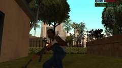 AK-47 con bayoneta para GTA San Andreas