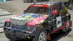 Mitsubishi Pajero Proto Dakar EK86 vinilo 1