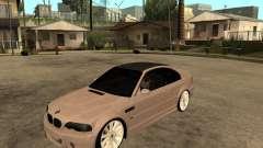 BMW M3 CSL E46 G-Power para GTA San Andreas