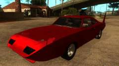 Dodge Charger Daytona Fast & Furious 6 para GTA San Andreas