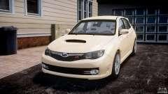Subaru Impreza WRX STi 2009 para GTA 4