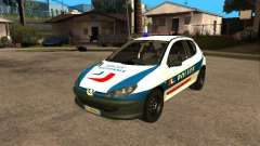 Peugeot 206 Police