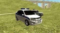 VAZ 2190 policía para GTA San Andreas