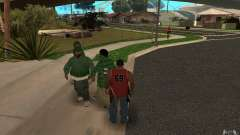 Skins Grove Street para GTA San Andreas
