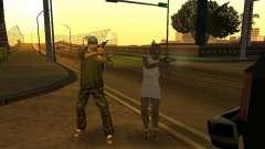 Policías camuflados