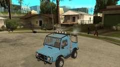 LuAZ 969 m lejos-Tuning para GTA San Andreas