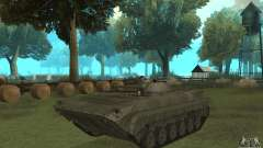 BMP-1 gris para GTA San Andreas