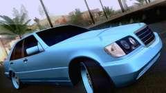 Mercedes-Benz S-Class W140 para GTA San Andreas