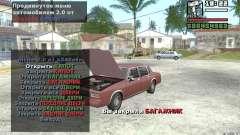 Extreme Car Control v.2.0 para GTA San Andreas