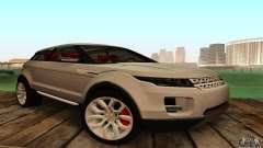 Land Rover Range Rover Evoque para GTA San Andreas