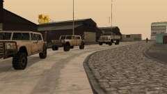 La base militar revivida en muelles v3.0