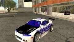 Mitsubishi Eclipse street tuning para GTA San Andreas