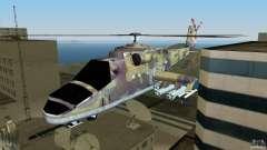 Mi-24 HindB para GTA Vice City