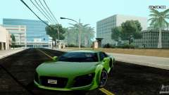 Audi R8 Light Tuned Version para GTA San Andreas