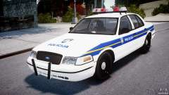 Ford Crown Victoria Croatian Police Unit para GTA 4