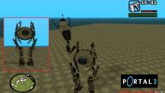 Robot de Portal 2 # 1