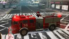 New LCFD Car para GTA 4