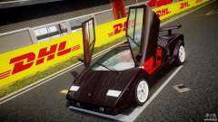 Lamborghini Countach v1.1 para GTA 4