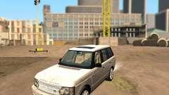 Land Rover Range Rover Supercharged 2008 para GTA San Andreas