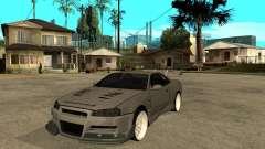 Nissan Skyline R 34 Need For Speed Carbon para GTA San Andreas