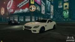 Mercedes-Benz SLK55 R172 AMG 2011 v1.0 para GTA 4
