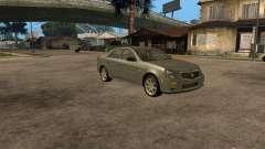 Cadillac CTS-V de plata para GTA San Andreas