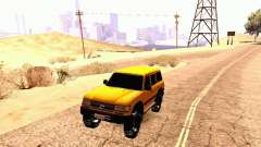 Toyota Land Cruiser 80 Off Road Rims para GTA San Andreas