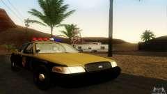 Ford Crown Victoria Maryland Police para GTA San Andreas