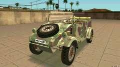 Kuebelwagen para GTA San Andreas