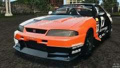 Nissan Skyline GT-R (R33) v1.0 para GTA 4