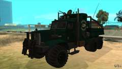 KrAZ 255 B1 Krazy-cocodrilo para GTA San Andreas