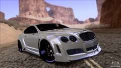 Bentley Continental GT Premier 2008 V2.0 para GTA San Andreas